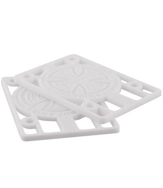 """Independent White Riser Shockpads 1/8"""" (Pack of 2)"""
