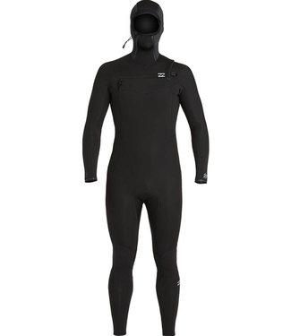 Billabong 5/4 mm Absolute Chestzip Longsleeve Hooded Black Wetsuit
