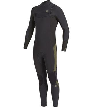 Billabong 5/4 mm Absolute Backzip Longsleeve GBS Antique Black Wetsuit