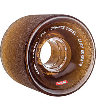 Globe Conical Cruiser Wheels - 62 mm 83A Clear/Coffee