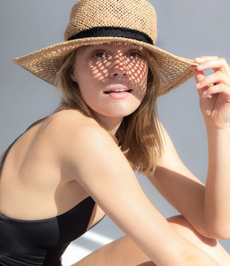 Hurley Santa Rosa Womens Floppy Hat Khaki
