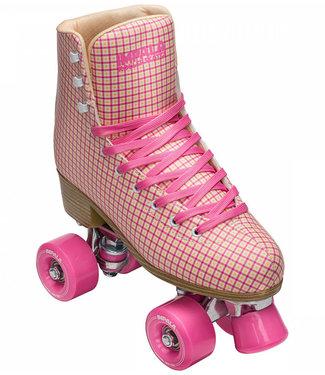 Impala Quad Rollerskate Pink Tartan