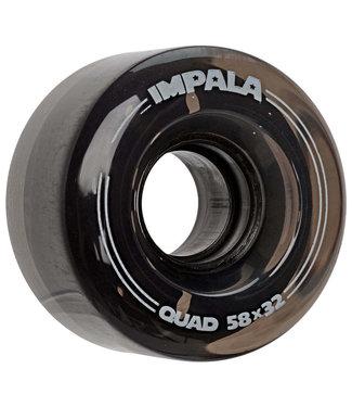 Impala Replacement Wheels 4pk 58MM Black
