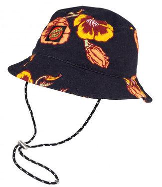 Santa Cruz Poppy Womens Bucket Hat Poppy Print