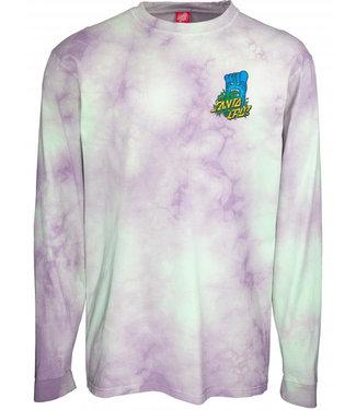 Santa Cruz Longsleeve T-Shirt Big Foot Screaming Hand Trippy Cloud