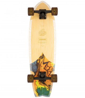 """Arbor Groundswell Sizzler 30.5"""" Complete Cruiser"""