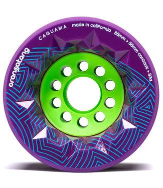 Orangatang Caguama 85mm/83A Purple Longboard Wheels
