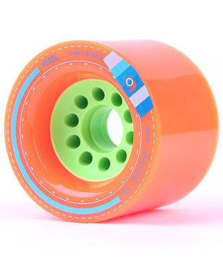 Orangatang Kegel 80mm/80A Orange Longboard Wheels