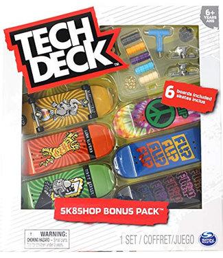 Tech Deck Sk8shop Bonus Pack Flip Fingerboards