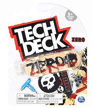Tech Deck Zero Complete Fingerboard 2-Tone Blood Natural