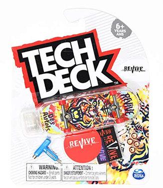 Tech Deck Revive Complete Fingerboard Doug Des Autels Tie Dye Tiger
