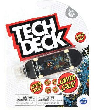 Tech Deck Santa Cruz Complete Fingerboard Tom Asta Cosmic Eyes