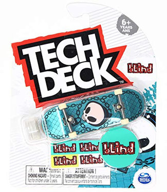 Tech Deck Blind Complete Fingerboard Reaper Chain Blue Foil
