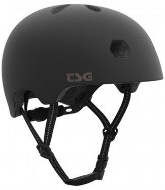 TSG Meta Satin Black Skate Helmet