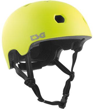 TSG Meta Satin Acid Yellow Skate Helmet