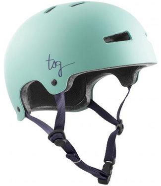 TSG Women Evolution Satin Mint Skate Helmet
