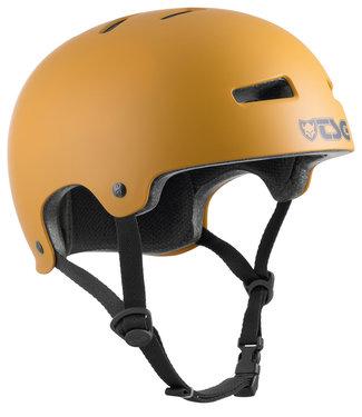 TSG Evolution Satin Yellow Ochre Skate Helmet