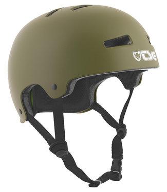 TSG Evolution Satin Olive Skate Helmet