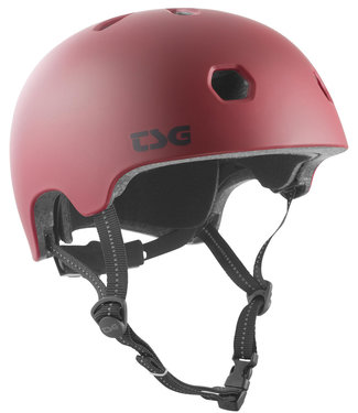 TSG Meta Satin Oxblood Skate Helmet