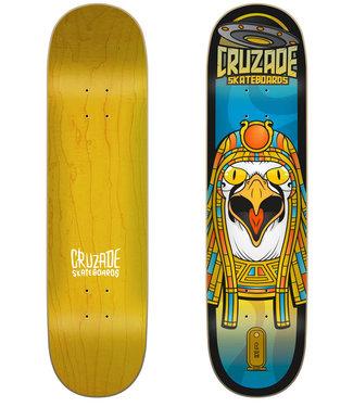"Cruzade Skateboards Conspiracy Ra 8.0"" Skateboard Deck"