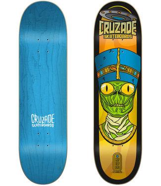 "Cruzade Skateboards Conspiracy Nefertiti 8.0"" Skateboard Deck"