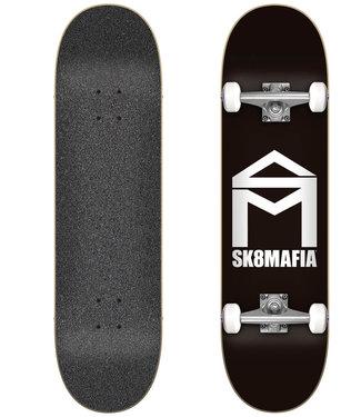 "Sk8Mafia House Logo Black7.75"" Skateboard Complete"