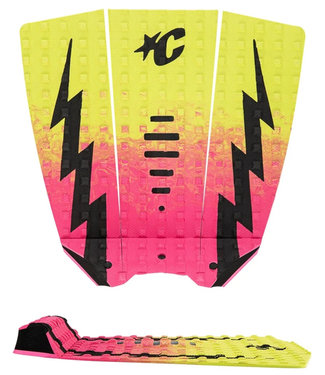 Creatures Of Leisure Mick Eugene Fanning Lite Pink Fade Lime Black Small Wave Traction