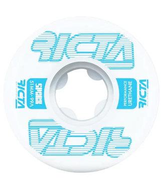 Ricta Framework Sparx 99A 51 mm White Lightblue Skateboard Wheels