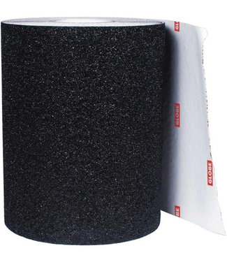 """Globe 10"""" Roll Skate Griptape Black (1m)"""