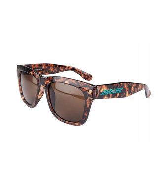 Santa Cruz Womens Sunglasses Strip II Brown Tortoiseshell O/S