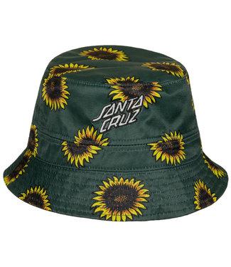 Santa Cruz Sunflowers Reversible Bucket Hat O/S
