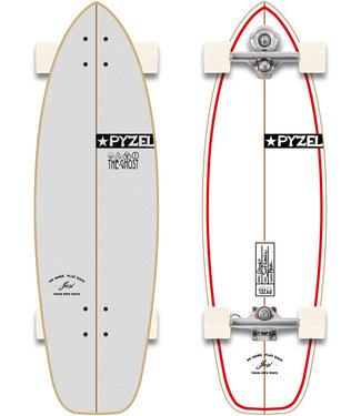 """YOW X Pyzel Ghost 33.5"""" Surfskate Complete"""