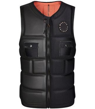 Mystic Voltt Impact Vest Front Zip Wake Black