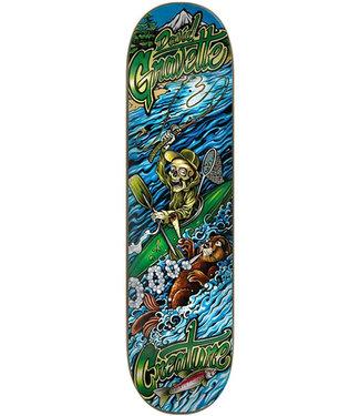 "Creature 8.3"" Gravette Yak Sesh Green Blue Skateboard Deck"