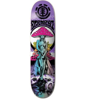 "Element 8.75"" Lamour Shroom Skateboard Deck"