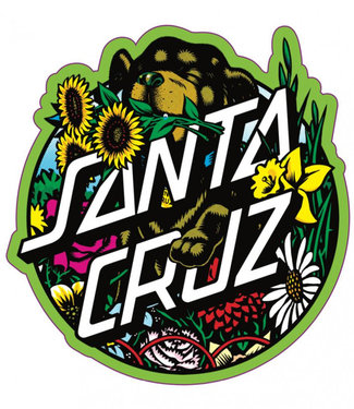 Santa Cruz Dressen Pup Dot Sticker