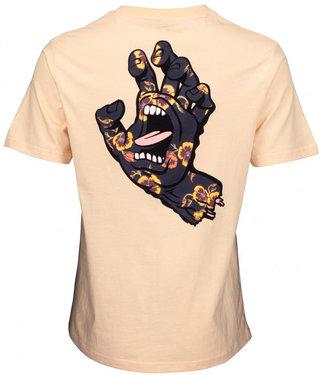 Santa Cruz Poppy  Hand Sand Womens T-Shirt