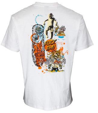 Santa Cruz Salba Archive White T-Shirt