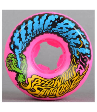 Santa Cruz 53mm 97A Vomit Mini 2 Slime Balls Lightblue Pink Green Wheels