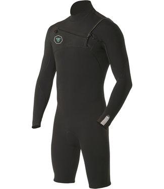 Vissla 7 Seas 2/2 mm Longsleeve Black Wetsuit