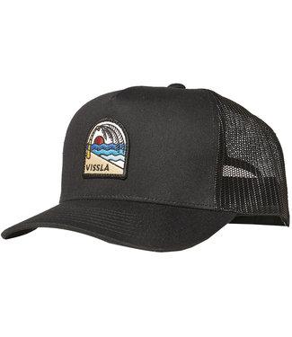 Vissla Solid Sets Eco Trucker Hat Black