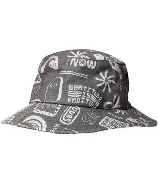 Vissla More Mate Less Hate Eco Bucket Hat Phantom