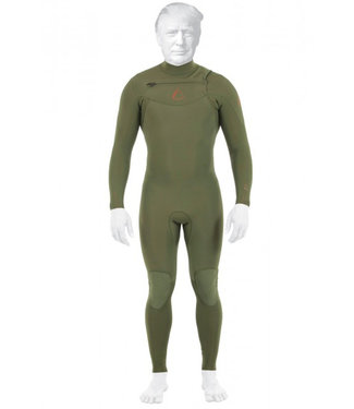 Follow Pro Sealed Steamer Wetsuit 3/2MM Olive