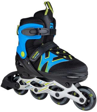 Skatelife Motion Adjustable Inline Skates Black/Blue