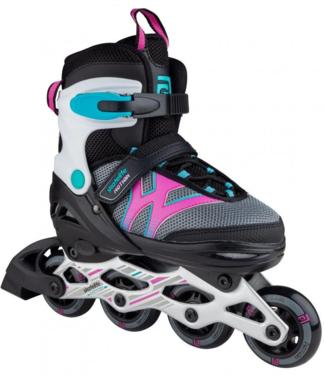 Skatelife Motion Adjustable Inline Skates Black/Pink