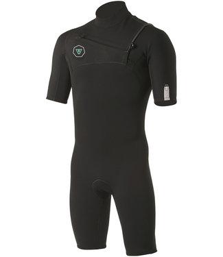 Vissla 7 Seas 2/2 mm Black Shortie Wetsuit 2021
