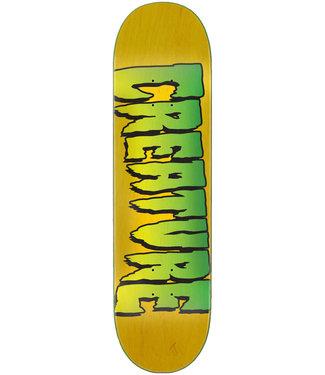 Creature 8.0 Logo Stumps Skateboard Deck