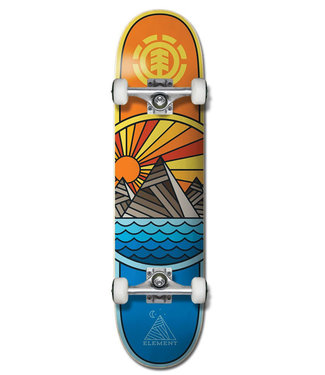 """Element 8.0"""" Rise And Shine Complete Skateboard"""
