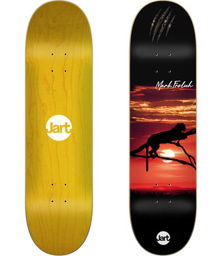 """Jart 8.0"""" Tiger Sunset Mark Frolich Skateboard Deck"""
