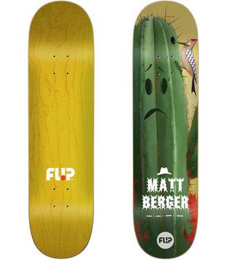 """Flip 8.25"""" Berger Flower Power Skateboard Deck"""